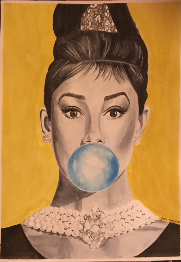 Audrey Hepburn by vava84